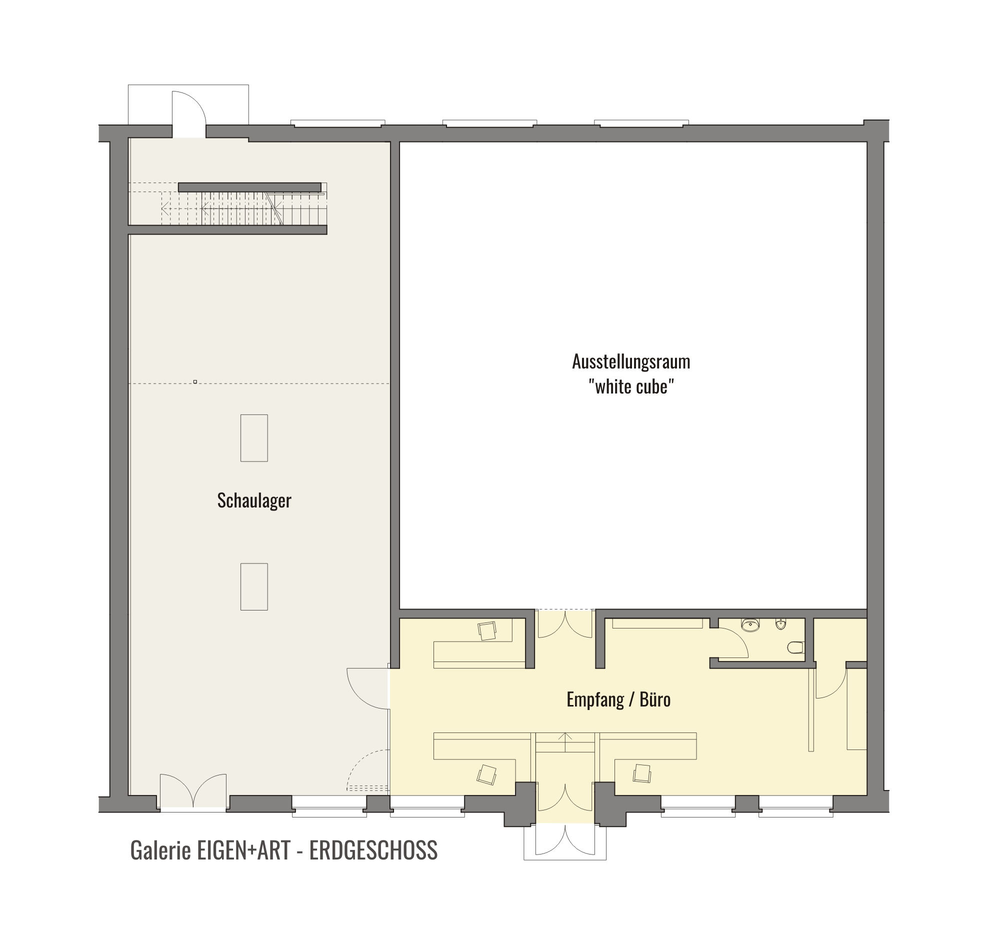 galerie eigen art leipzig 3m bauzentrale. Black Bedroom Furniture Sets. Home Design Ideas